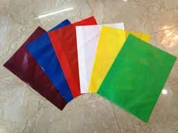 Túi PE màu các loại